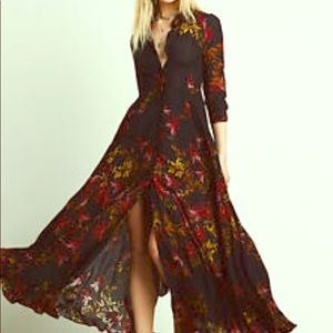 Free People Duster and Dress Size 4 Pre-Loved
